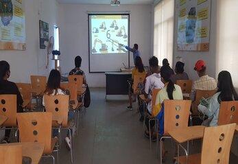 Trainees at OTC, Bhaktapur