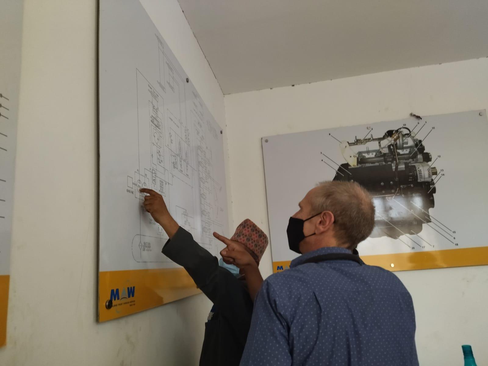 FCDO visit at OTC, Bhaktapur