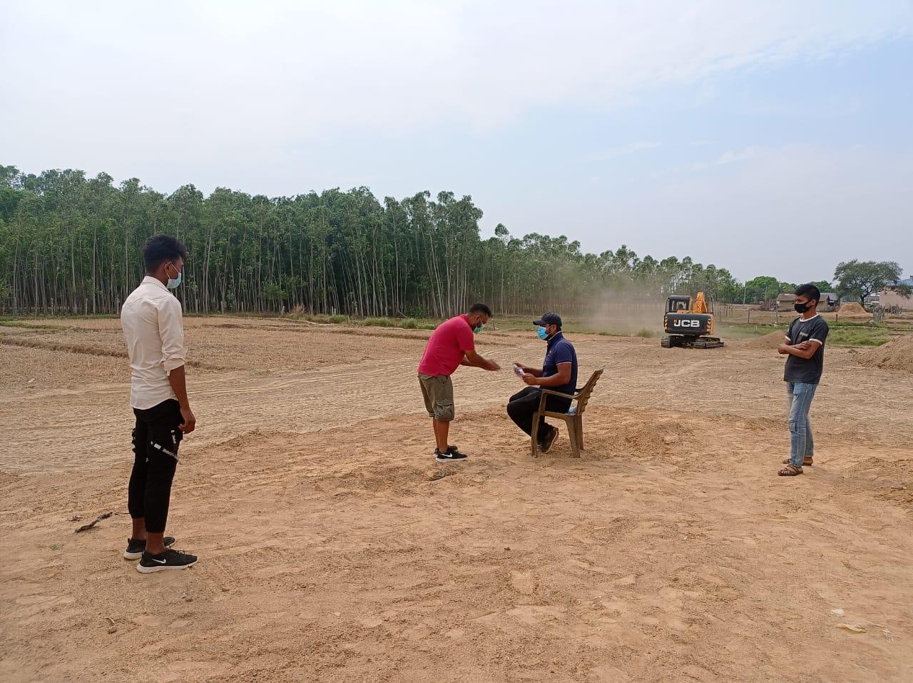 Trainees at OTC, Nepalgunj